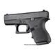 Hogue HandALL Beavertail Grip Sleeve for Glock 42/43