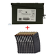 Federal 5.56 NATO 55gr FMJ 420 Rounds in Ammo Can & Ten (10) PMAG 30 5.56x45 Magazines