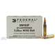Federal 55 Grain 5.56 FMJ-BT Ammo (1000 Round Case) - XM193F