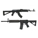 PSAK-47 GB2 Liberty MOE Rifle, Black & PSA 16