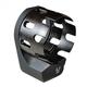 Strike Industries AR Enhanced Castle Nut & Extended QD End Plate - SI-AR-ECN&EEP