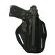 BLACKHAWK! 3 Slot Leather Pancake Holster - Kahr CW/P/K 9/40  (Right)- 420023BK-R