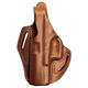 BLACKHAWK! Leather Cutaway Holster - For Glock 19/23/32/36  (Left)- 421302BN-L
