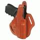 BLACKHAWK! Leather Cutaway Holster - For Glock 26/27/33  Right 421303BN-R
