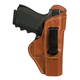 Blackhawk! Right Hand Leather Holster for Glock 26/27/33, Brown Leather - 421404BN-R