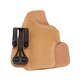 Blackhawk! Tuckable Right Hand Holster for Kahr CW9/CW40/P9, Tan Leather - 421606BN-R