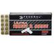 Federal Ultra Target and Range 9mm 115gr FMJ Ammunition, 50 Round Box  - UTR9115