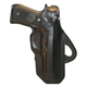 BLACKHAWK! Leather Angle Adjustable Paddle Holster, SW 5900/ 4000/ 900, Black, Right-420610BK-R