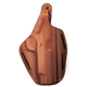 BLACKHAWK! 3 Slot Leather Pancake Holster, S&W MP 9/40 Compact, Right, Brown- -420019BN-L