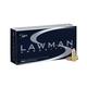 Speer Lawman 9mm 115gr TMJ Handgun Training Ammunition, 50 Rounds - 53650