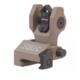 Troy Rear Di-Optic Aperture (DOA) Folding BattleSight, FDE