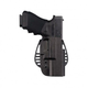 Uncle Mike's Tactical Open Top Kydex Paddle Holster, Left Hand (Size 24) - 54242