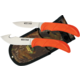 Outdoor Edge Wild Pair Game Knife Set, (Skinner-Caper)--WR-1C