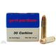 PRVI Partizan 30 Carbine 110gr  FMJRN Ammunition 50rds - PP3.0