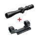 Leupold VX-R Patrol 3-9x40mm Rifle Scope W/ FireDot Reticle & Leupold Mark 2 30mm IMS Mount