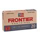 Hornady Frontier 5.56 Nato 62gr BTHP Match 20 Rounds Ammunition - FR300