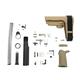 PSA SBA3 MOE EPT Pistol Lower Build Kit, Flat Dark Earth - 5165448740