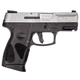 Taurus G2C 9mm Pistol, Black & Stainless Steel - 1-G2C939-12