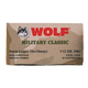 Wolf Steel Cased 9MM 115 gr FMJ 50 Rounds Ammunition - WPA919FMJ