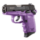 SCCY CPX-1 9mm Black / Purple Pistol with Safety - CPX 1CBPU