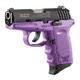 SCCY CPX-2 9mm Black / Purple Pistol, No Safety - CPX 2CBPU