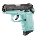 SCCY CPX-1 9mm Black / Blue Pistol with Safety - CPX 1CBSB