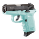 SCCY CPX-2 9mm Black / Blue Pistol, No Safety - CPX 2CBSB