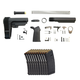 PSA MOE SBA3 Lower Build Kit & Ten Magpul PMAG 30 5.56x45mm Magazines