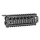 Midwest Industries Gen2 Two Piece Drop-In Carbine Length Handguard - MCTAR-17G2-BLK