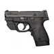 S&W Shield .40 S&W Pistol with Green Crimson Trace Laserguard, Black - 10147