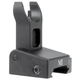 Midwest Industries Non-Locking Low Profile Flip Front Sight, Black - MI-LPFS