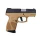 Taurus G2C 9mm Black & FDE Pistol - 1-G2C931-12T