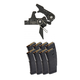 Geissele Super Speed Precision (SSP) Dynamic Flat Bow Trigger & Eight Magpul PMAG 30 5.56x45mm Magazines