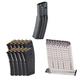 SureFire 60 Round Magazine, 10 Magpul PMAG 30 5.56x45mm Magazines, and 10 ETS Glock 9mm 31 Round Magazines