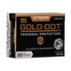 Speer Gold Dot Personal Protection .32 Auto 60 gr 20 Rounds Ammunition - 23604GD