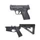 S&W M&P Shield 9mm & PSA AR-15 Complete Lower Magpul Moe Edition
