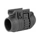 FAB Defense PLA Picatinny Flashlight and Laser Adaptor Mount, Matte Black - FX-PLA11/8B