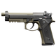 Beretta M9A3 Type F 9mm Pistol 17 Round, Black & Green - J92M9A3M2