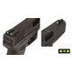 TruGlo Brite-Site Series - TFO (F-GRN/R-YLW) for GLOCK - High TG131GT2Y
