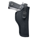 Uncle Mike's Sidekick Size 8 Left Hand Hip Holster, Textured Black - 81082