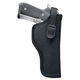 Uncle Mike's Sidekick Size 0 Right Hand Hip Holster, Textured Black - 81001