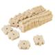 Wheeler Delta Compressed Wool Die-Cut Threaded Cleaning Pad, 20/pack - 1078197