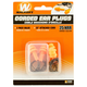 Walkers Game Ear 25 dB Corded Ear Plug, Orange, 2/pack - GWPEPCORD2PK