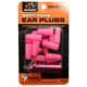 Walkers Game Ear 32 dB Inside the Ear Plug, Pink, 7 Pair - GWPPLGCANPK
