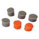 Walkers Game Ear Silicone Putty 32 dB Inside the Ear Plug, Orange/Flat Dark Earth, 3/pack - GWPSILPLGOFDE