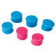 Walkers Game Ear Silicone Putty 32 dB Inside the Ear Plug, Pink/Teal, 3/pack - GWPSILPLGPKTL