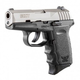 SCCY CPX-2 9mm Black & Stainless Pistol, No Safety, (1 Magazine) - CPX-2TT-S