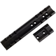 Weaver Anschutz 153 Deluxe Aluminum Top Mount Standard Rear/Front 2-Piece Scope Base, Gloss Black - 48019