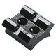 Weaver Interarms Mini Mark X Aluminum Top Mount Standard Rear 2-Piece Scope Base, Black - 48023
