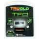 TruGlo 1911 TFO Tritium / Fiber Optic Sights .270/.500, Green/Green - TG131NT4